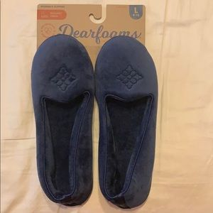 NWT Dearfoams slippers